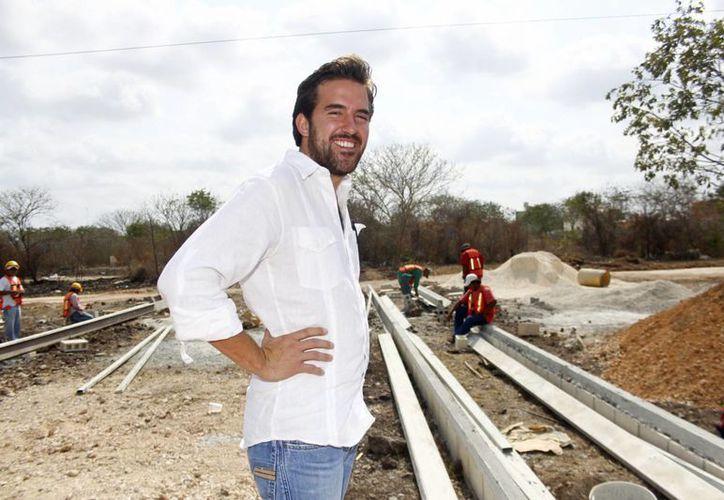 Pablo Gamboa Miner es el menor de tres hermanos. (Christian Ayala/SIPSE)