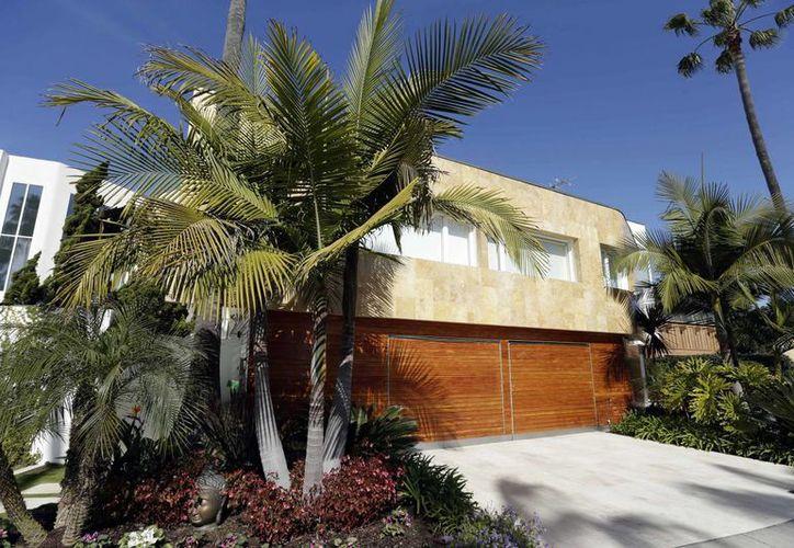 Una lujosa propiedad de la familia de Elba Esther Gordillo ubicada en Coronado, California. (Agencias)
