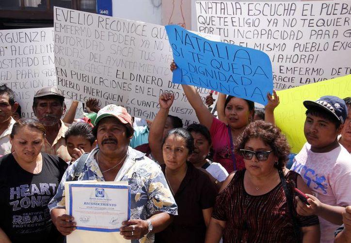Caminaron por varias calles del centro de Mérida. (Juan Albornoz/SIPSE)