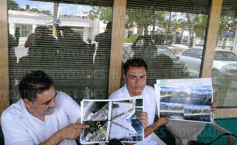 Ciudadanos denunciaron que la obra se ubica en una zona protegida. (Israel Leal/SIPSE)
