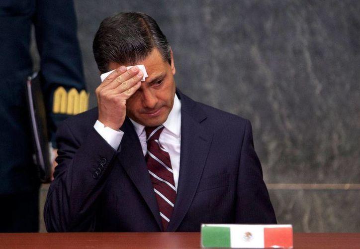 Peña Nieto tiene un encuentro programado con el presidente Trump este 31 de enero, para renegociar el Tratado de Libre Comercio. (Archivo/Agencias)