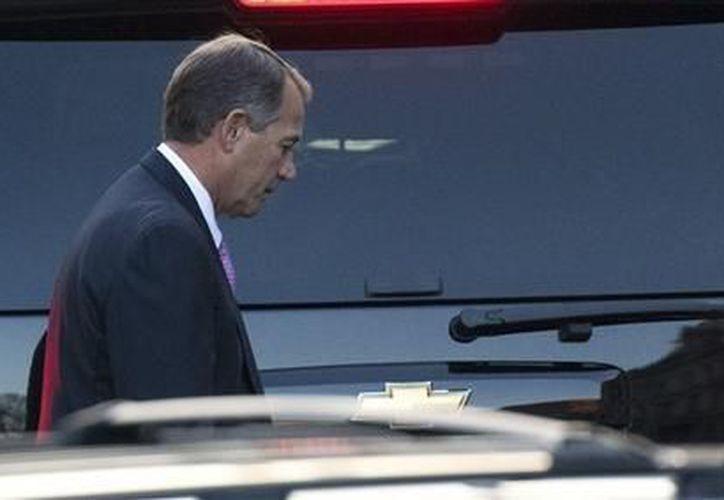 El presidente de la Cámara de Representantes de Estados Unidos, el republicano John Boehner. (Agencias)
