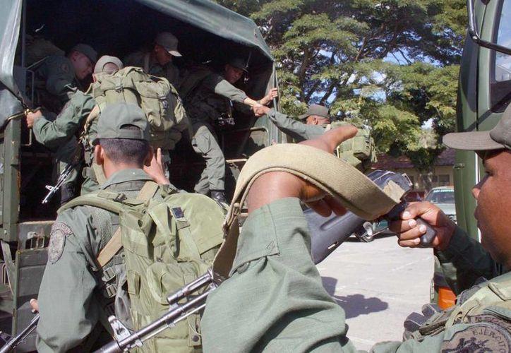 El acto se realizó en el Campo Militar 1-B de Popotla, (Notimex)