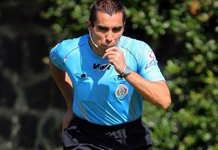 Marco Antonio Rodríguez ya ha pitado en un Mundial. (www.mediotiempo.com)