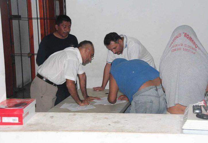 La audiencia donde se dictó auto de formal prisión a los detenidos. (Julián Miranda/SIPSE)