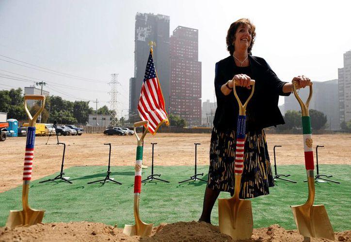 Roberta Jacobson, embajadora de Estados Unidos en México (REUTERS)