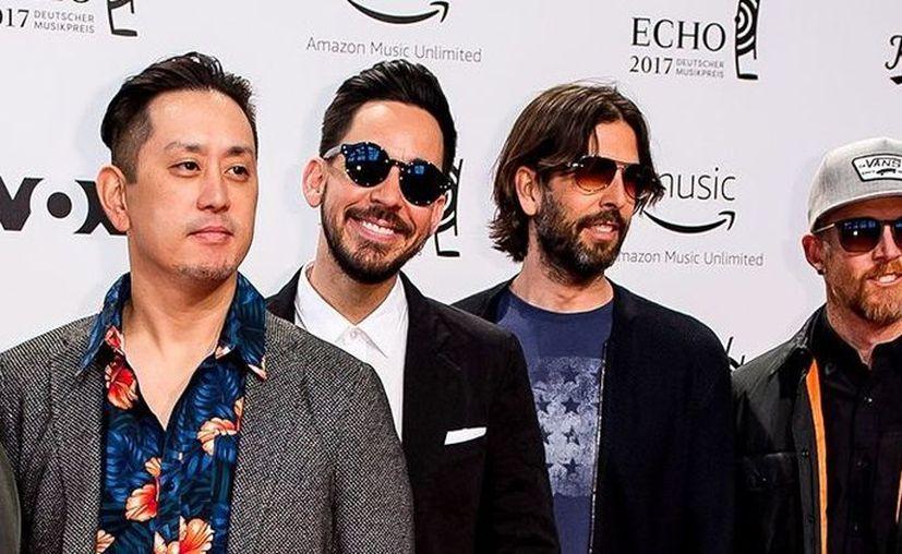 La banda no ha lanzado álbum desde One More Light en 2017. (Wikimedia)