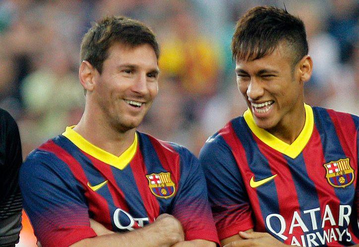 Neymar aseguró que la primera vez que entró al vestuario se sintió como en un videojuego. (Contexto/Internet).