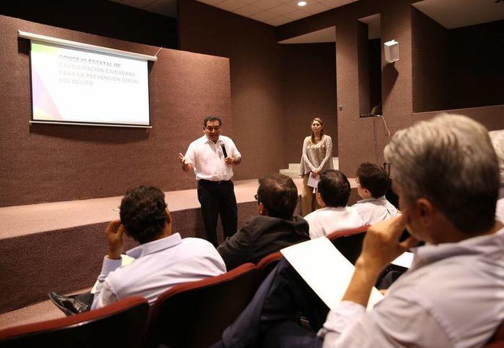 Realiza su primera sesión el Consejo Estatal de Participación Ciudadana para la Prevención Social del Delito. (Cortesía)