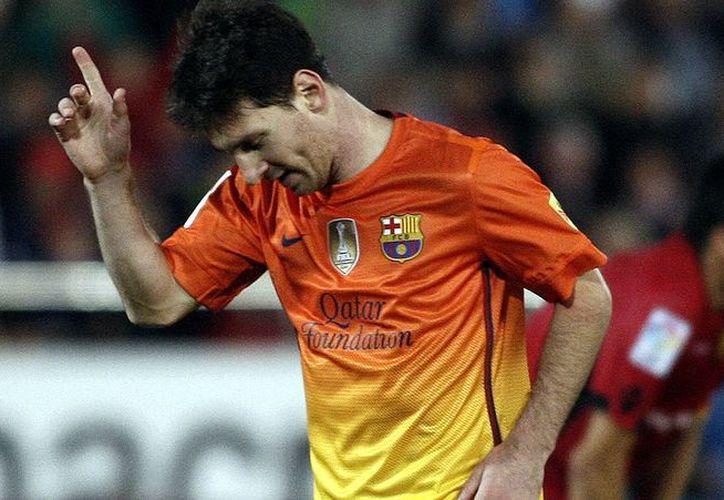 El Barcelona gira en torno a Messi y nada más. (Agencias)