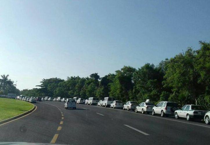 No se reporta tráfico ni afectación en la circulación de los vehículos. (Sergio Orozco/SIPSE)