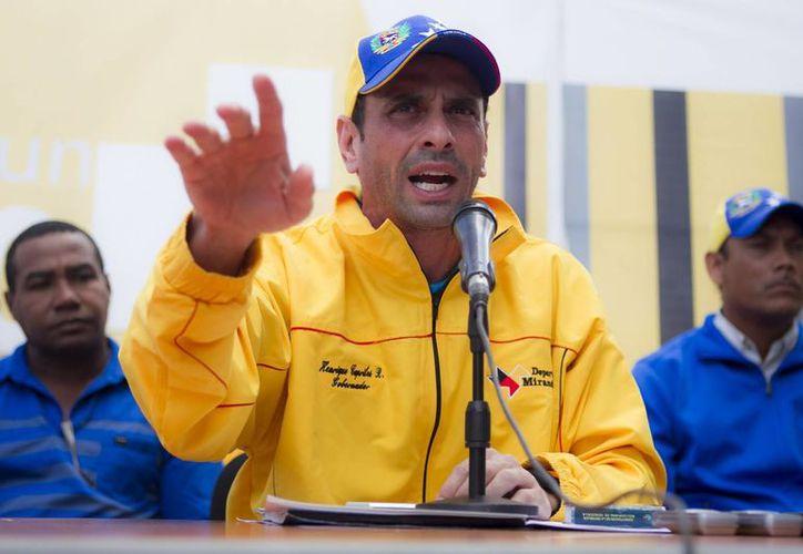 Leopoldo López, preso político venezolano, enfrenta un juicio en el que no se le permite presentar pruebas ni testigos a su favor. (Archivo/Agencias)