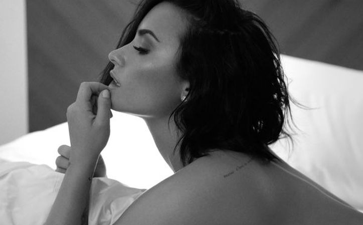 Demi Lovato, ha publicado fotos suyas en bikini en su cuenta oficial de Instagram. (Foto: Internet)