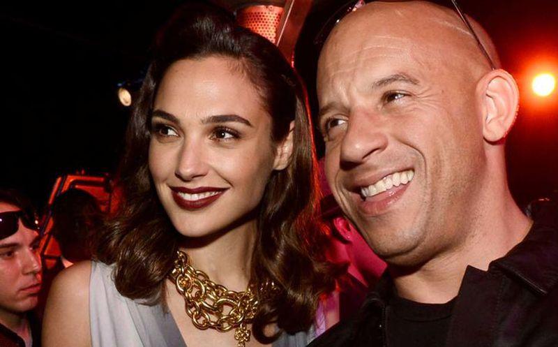 Vin Diesel y Gal Gadot protagonizan tierna foto junto a sus hijos