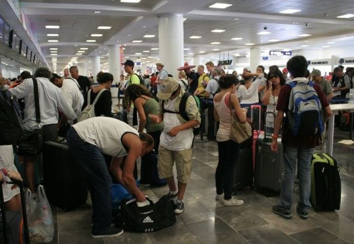 Los turistas fueron advertidos sobre las condiciones climáticas adversas que se tienen en el noroeste de Estados Unidos. (Redacción/SIPSE)