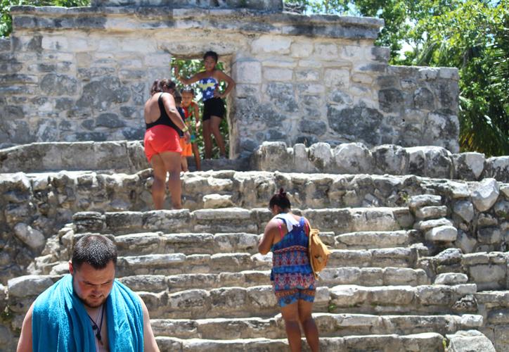 Los vestigios en el parque cobraron importancia entre 1000-1550 d. C. (Octavio Martínez/SIPSE)