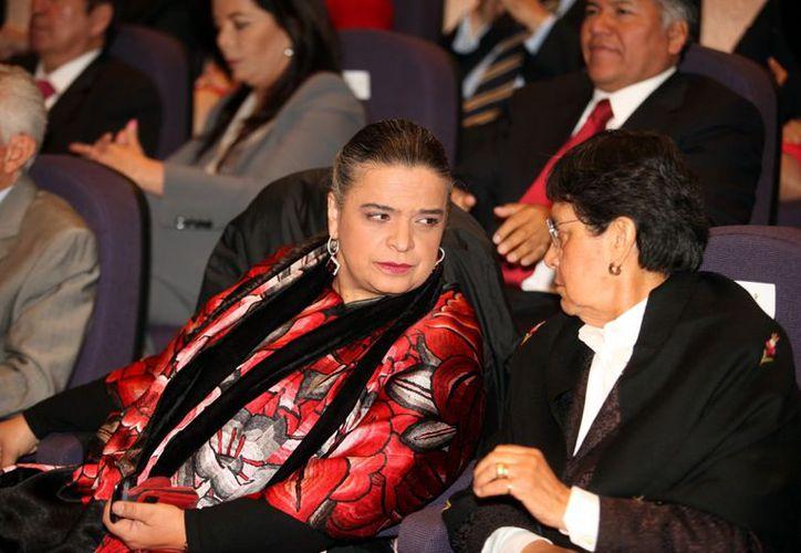 Beatriz Paredes será embajadora en Brasil. (Agencia Reforma)