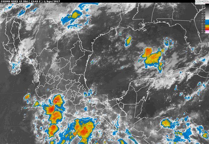 Para hoy se espera un día nublado en la capital. (Conagua)