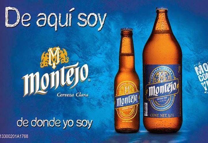 Promocional de la cerveza Montejo, una marca de Grupo Modelo. (www.gmodelo.mx)