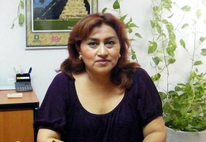 Rosa María Sánchez Cordero,  presidenta de la Asociación de Agencias Promotoras de Turismo de Yucatán, alertó de empresas irregulares que ofertan paquetes de viaje económicos. (SIPSE)