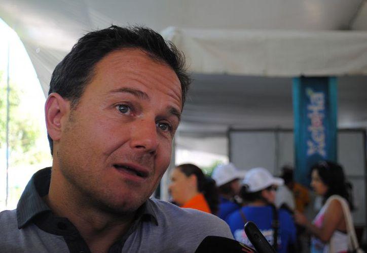 El titular también dijo que Quintana Roo fue uno de los estados que creció en los últimos años en todos los deportes. (Redacción/SIPSE)