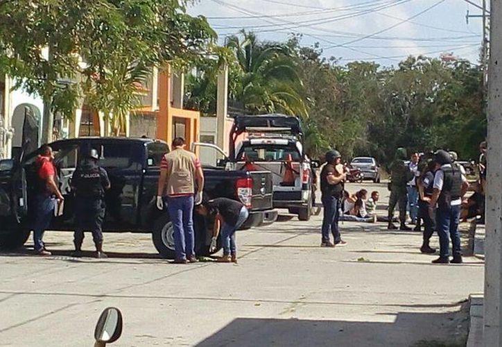 Tras la balacera del martes pasado en Cozumel, seis personas fueron detenidas. (Redacción/SIPSE)
