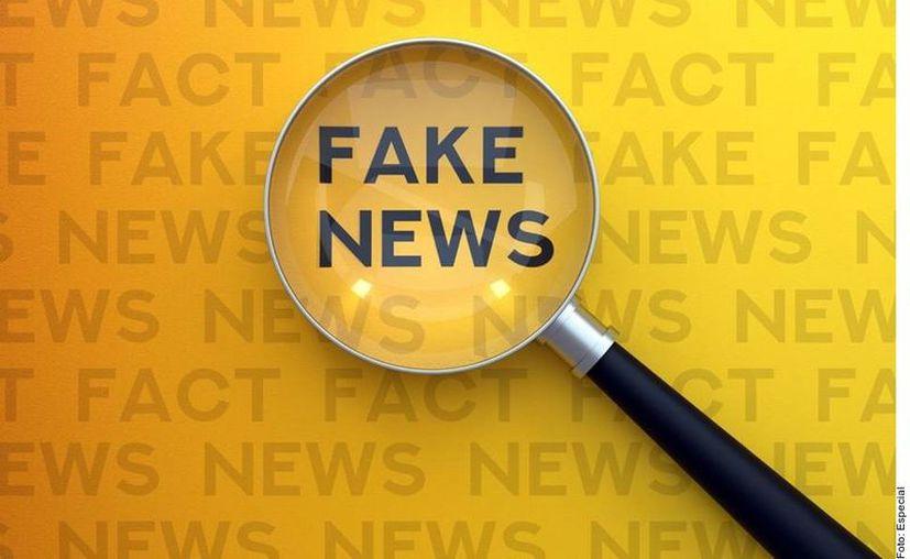 Si la página de donde obtienes información tiene nombres poco comunes o terminan en dominios que no conozcas, es muy probable que sean sitios falsos. (Agencia Reforma)