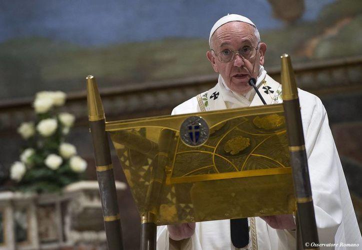 El Papa Francisco se realizará el mes febrero una visita a México, la cual concluirá en Chihuahua. (Archivo/Agencias)