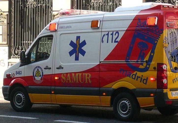 El menor fue llevado de emergencia al hospital. (El Debate)