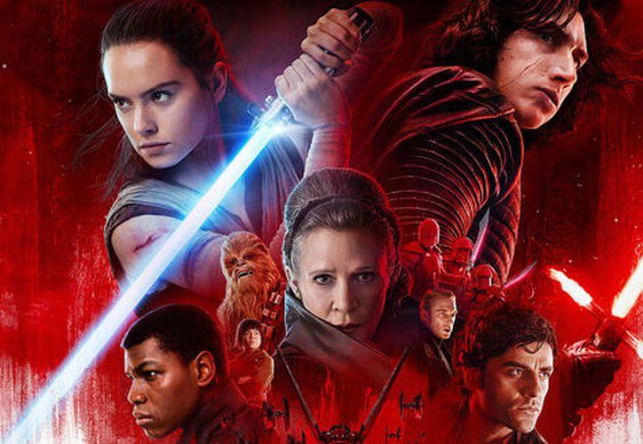 Star Wars: Los últimos Jedi es la producción que tuvo más ingresos económicos. (Disney)