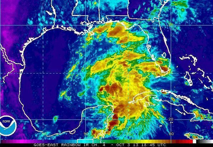 Se preve que Karen se intensifique y avance cada vez más hacia el Norte de México. (ssd.noaa.gov)