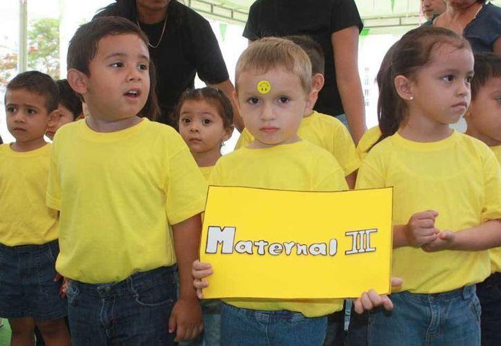 Este evento sirve como terapia de estimulación temprana para los niños. (Milenio Novedades)