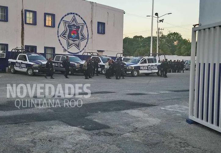 Las autoridades municipales regresaron a sus labores esta mañana. (Eric Galindo)
