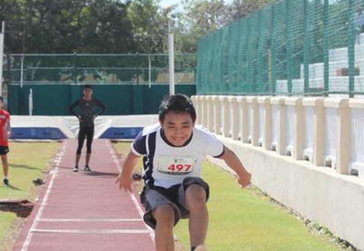 El día de ayer terminó el Campeonato Invernal de Atletismo. (Jesús Erosa/SIPSE)