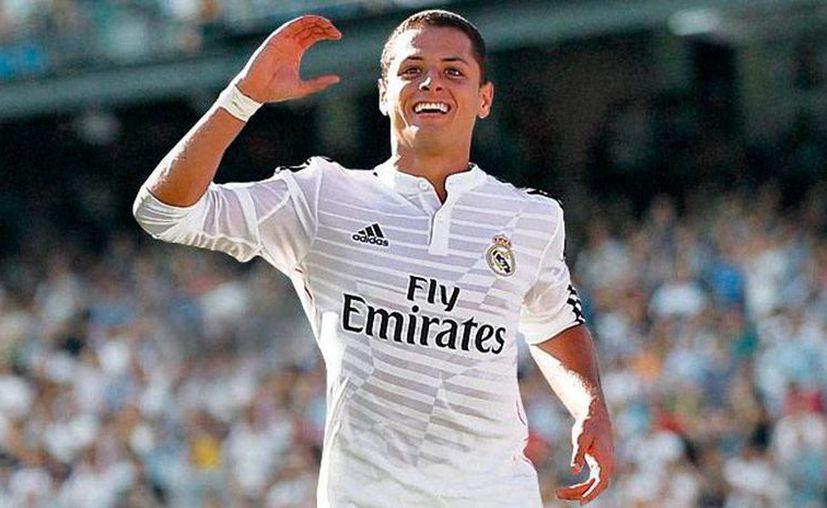 Para la prensa española, el hecho de que 'Chicharito' no tenga minutos con el Real Madrid lo convierte en un mal fichaje. Por lo pronto, está convocado para el partido contra el Getafe. (Archivo/realmadrid.com)