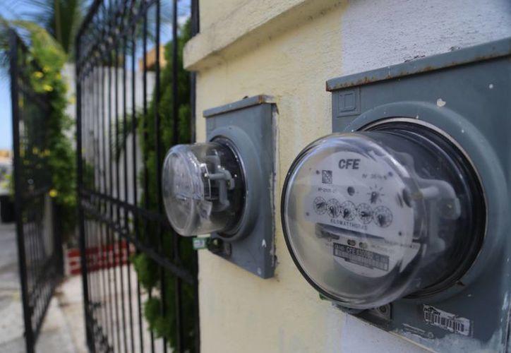 La CFE implementará aumentos en las tarifas comerciales y domésticas de alto consumo. (Israel Leal/SIPSE)