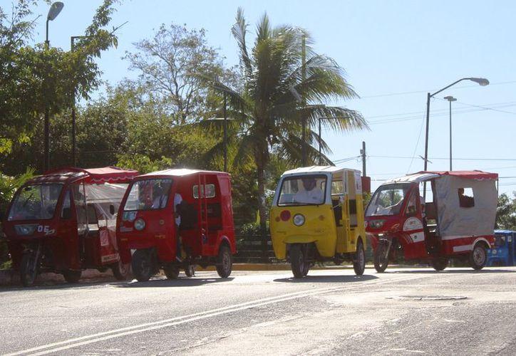 La intención de pedir este requisito es evitar que sigan las inseguridades en el transporte. (Foto: Octavio Martínez/SIPSE).