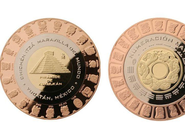 Esta moneda cuesta 400 pesos, o 550 pesos si se adquiere con estuche. (Internet)