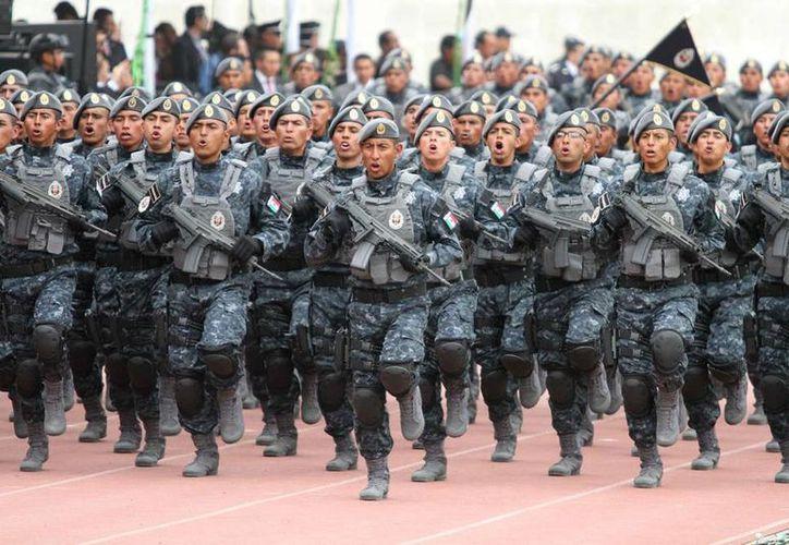 La Gendarmería, nueva división de la Policía Federal, tendrá un destacamento en la entidad, informó el secretario de Gobierno, Víctor Caballero Durán. (Foto: Notimex)