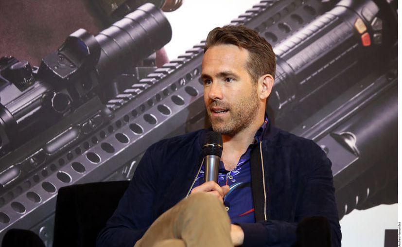 Reynolds obtuvo 27 millones de dólares por protagonizar la plataforma de streaming la película Six Underground. (Foto: Reforma/Andrés Hernández)