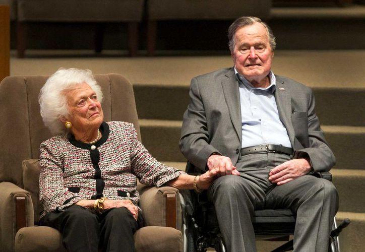 Former U.S. President George H.W. Bush. (AP)