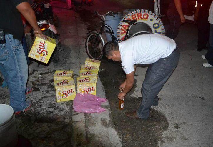 Las autoridades fortalecen las labores de inspección en todo el municipio. (Cortesía/SIPSE)