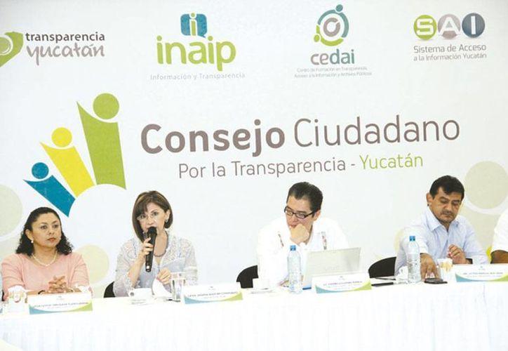 La transparencia en Yucatán es cada vez mayor, pero no suficiente, coincidieron en el V Consejo del Inaip. (Milenio Novedades)