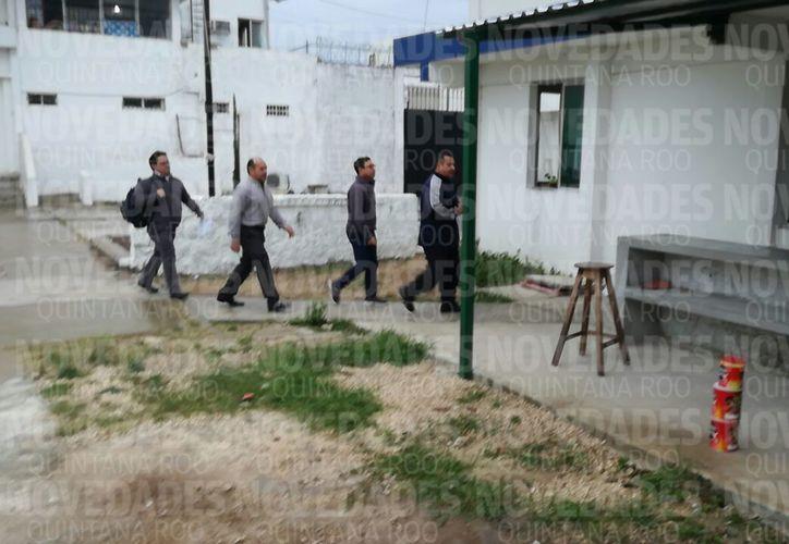 El ex titular de Apiqroo salió de la cárcel de la capital del estado.  (Joel Zamora/SIPSE)