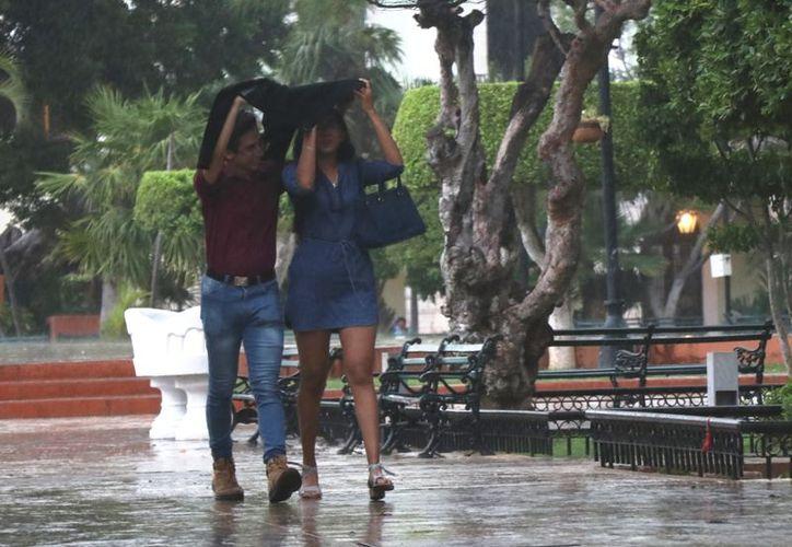 Este viernes se prevé tormentas fuertes a puntualmente muy fuertes en Yucatán. (Novedades Yucatán)