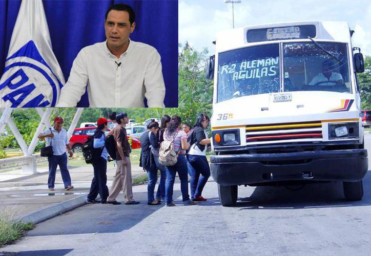 """Raúl Paz asegura que si no se puede solucionar el problema del transporte, """"que el gobierno renuncie a esa responsabilidad"""". (Milenio Novedades)"""