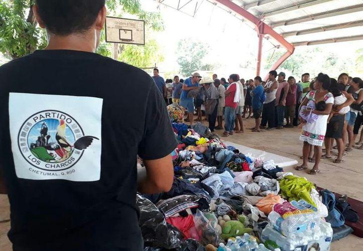 Por lo pronto, ninguna de las ocho mil personas afectadas en los municipios dejará de recibir apoyo. (Joel Zamora/SIPSE)