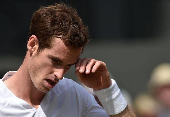 Andy Murray reconoció que  el búlgaro Grigor Dimitrov fue superior en todo el partido. (Foto: AP)