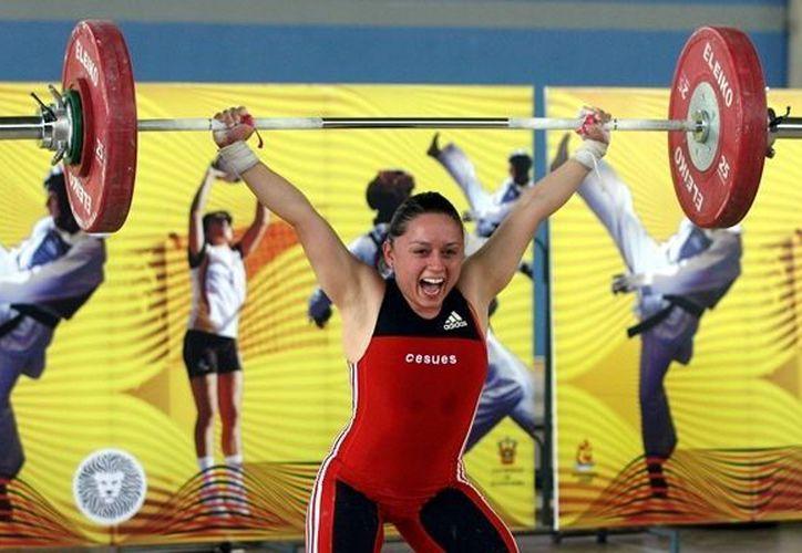 El deporte de levantamiento de pesas es el que le a dado al estado el mayor número de medallas en las olimpiadas. (Redacción/SIPSE)