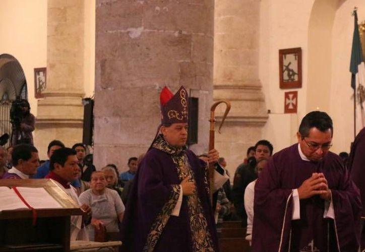 El Arzobispo de Yucatán, Mons. Gustavo Rodríguez Vega, recordó que el Papa Francisco ha sido un ejemplo de acercamiento y respeto a las distintas confesiones cristianas. (Milenio Novedades)